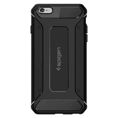 rugged armor spigen 174 rugged armor sgp11643 iphone 6 plus 6s plus black spaceboy