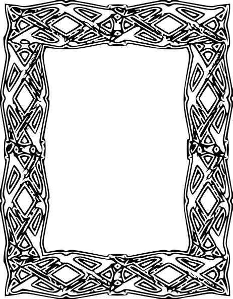 printable art to frame large printable frames clipart best