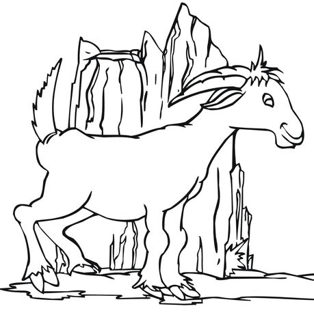 nubian goat coloring pages dairy goat coloring pages freecoloring4u com