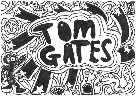 doodle tom gates shaun tom gates