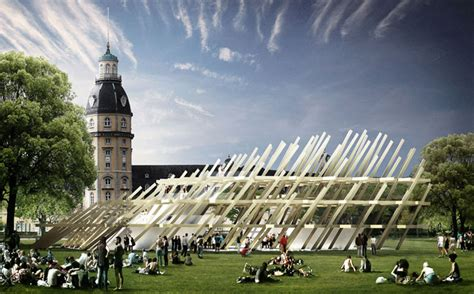jubilee pavilion in karlsruhe will help the city celebrate - Designer Karlsruhe