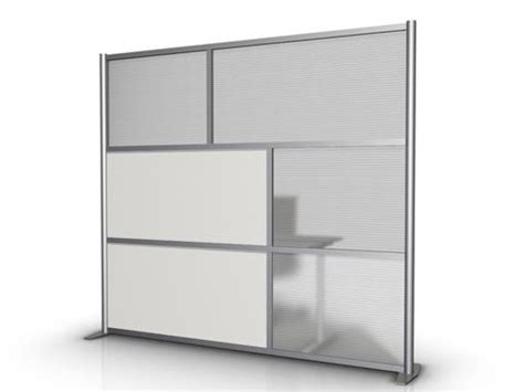 """84"""" wide modern office partitions & room divider product"""