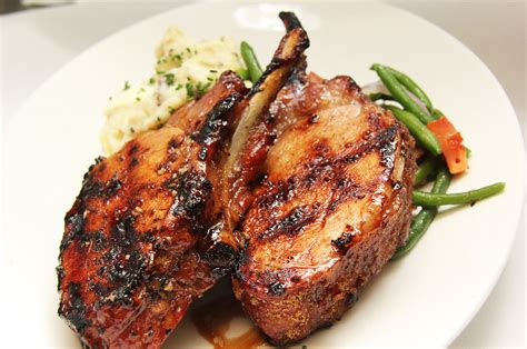 tropical grilled pork chops recipe dishmaps