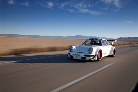 rauh welt porsche 911 sweet and tender hoonigan rauh welt 911 turbo debuts at