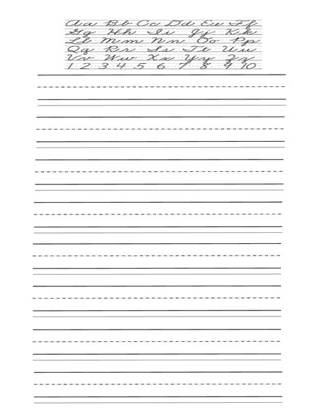 printable practice handwriting sheets cursive alphabet practice sheets uk continuous cursive