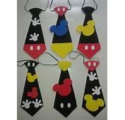 Corbatas De Mickey En Foami Cotillones Bs 20000 MercadoLibre