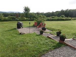 building a patio on a sloped yard diy patio installation how to build a paver patio