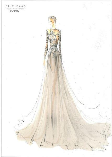 fashion illustration elie saab elie saab fashion illustration croquis
