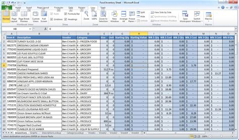 excel inventory template best photos of free inventory excel spreadsheet exles