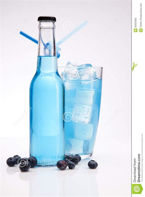 blue martini bottle exotic blue bottle alcohol cocktail stock image image