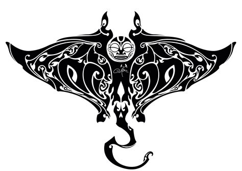 tribal stingray tattoo designs manta maori by tchoko27 on deviantart