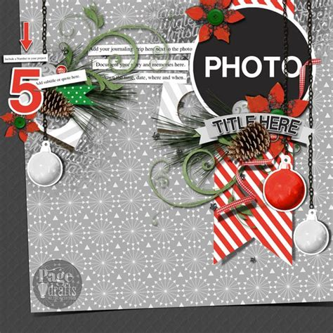 christmas layout design inspiration 265 best christmas scrapbook pages images on pinterest