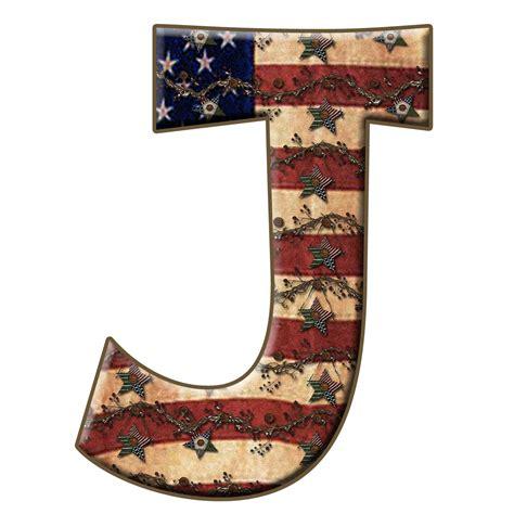 Letter J enchanted s free americana twigs digi