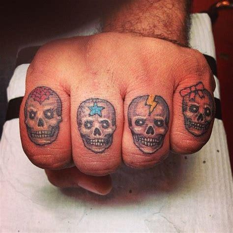 family finger tattoo skull finger family tattoos finger