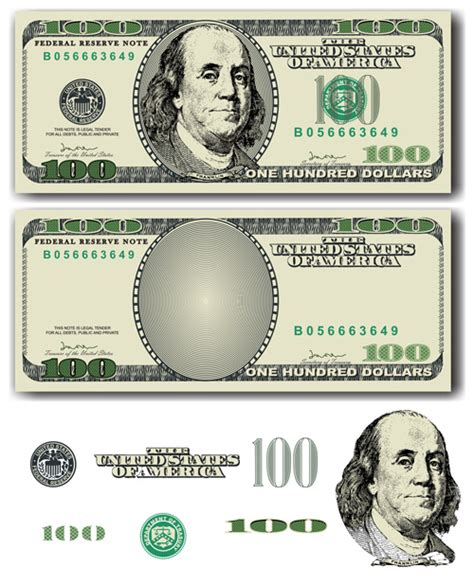 money dollars and design elements vector various money design elements vector 04 vector business