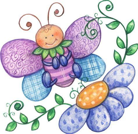 imagenes navideñas infantiles animadas dibujos a color mariposas a color