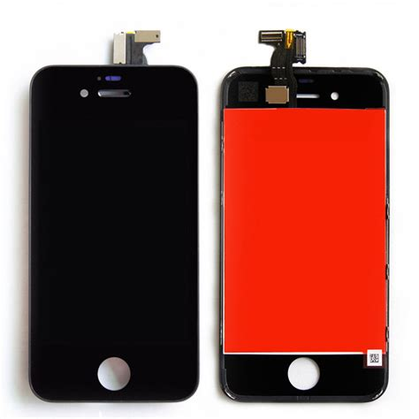 New Iphone 4 4s Cdma Lcd Touchscreen Frame Original 100 gsm cdma black iphone 4s lcd display touch screen digitizer replacement parts assembly