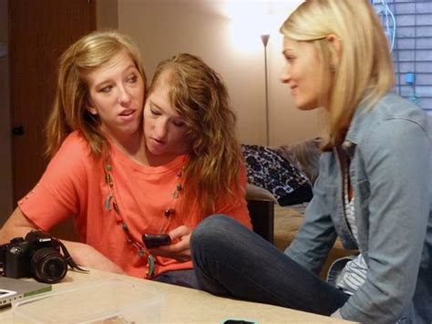 conjoined twins abby and brittany marriage identical conjoined twins abby brittany return to tv