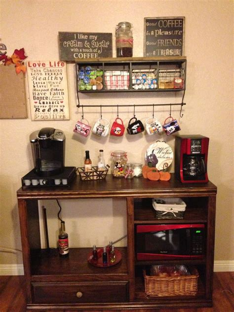 coffee bar for the home