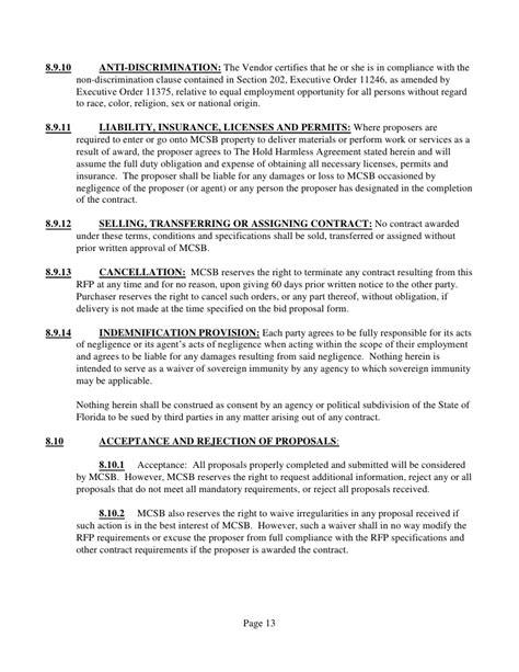 Request For Proposal Bid No 397 Self Insured Prescription