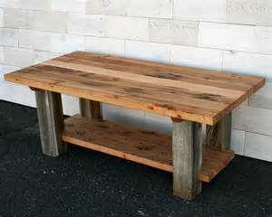 Barn Wood Coffee Table Made Reclaimed Fir And Barn Wood Coffee Table By Historicwoods By Lunarcanyon Custommade