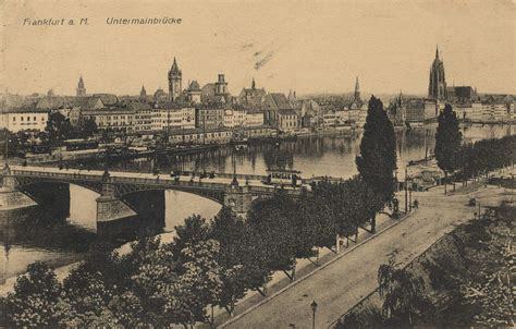 Postkarten Drucken Frankfurt by Frankfurt A Hessen Untermainbr 252 Cke Zeno Org