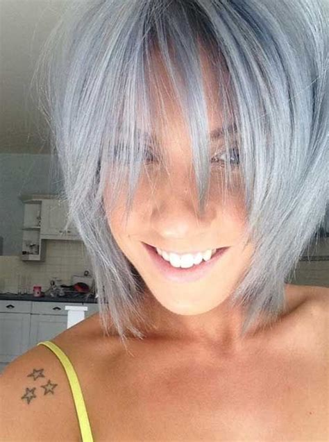 best 25 grey hair and the 25 best short gray hairstyles ideas on pinterest