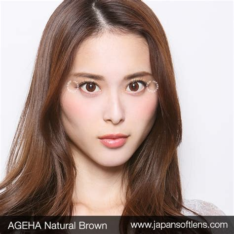 Softlens Gel Ageha Soft Lens Gel Ageha Dia 15mm Water 55 Korea Terl softlens brown ageha brown japan softlens