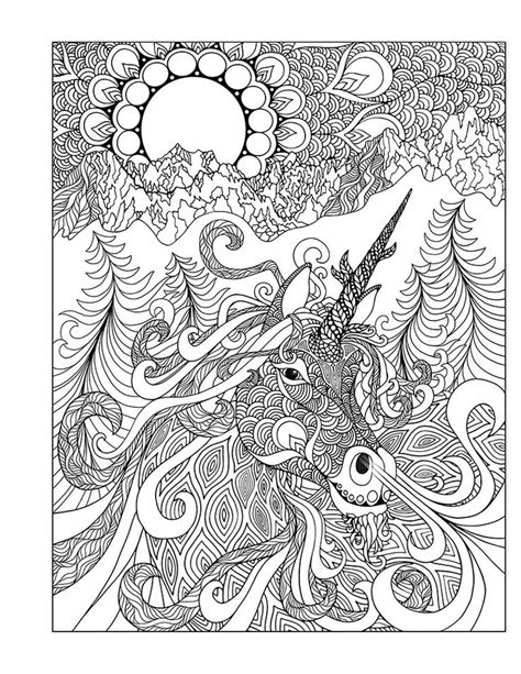 coloring books for princess unicorn designs advanced coloring pages for tweens detailed zendoodle designs patterns practice for stress relief relaxation books 21 best images about coloring pages of horses on