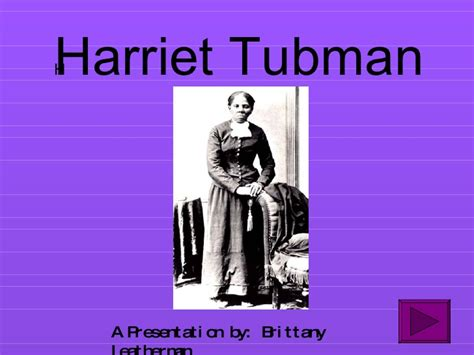 harriet tubman biography ppt interactive powerpoint on harriet tubman
