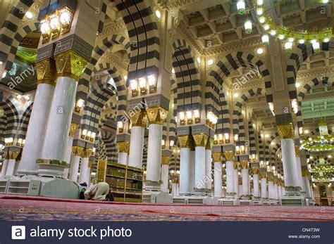 design masjid nabawi interior of masjid mosque nabawi in al madinah saudi