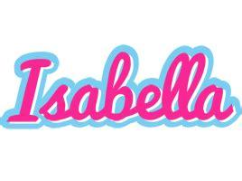 isabella logo  logo generator popstar love panda