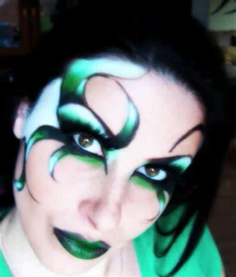 imagenes de ojos fantasia maquillaje de fantas 237 a verde elfo curso de maquillaje online