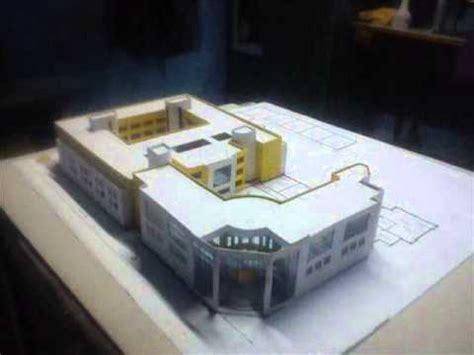 How To Make A Model House Out Of Paper - how to make architecture building house model