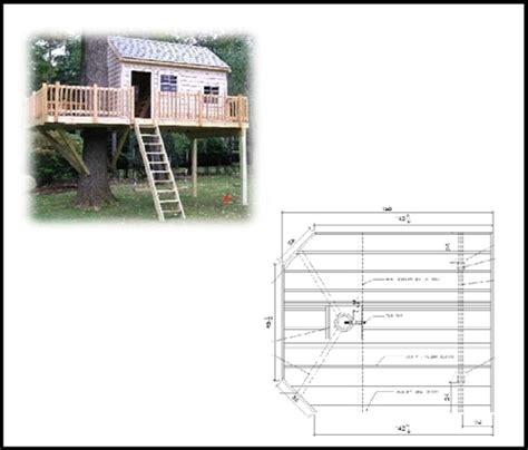 tree house plan 14 x 12 rectangular treehouse plan standard treehouse plans attachment hardware