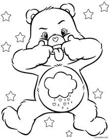 care bears coloring pages free coloring pages of care bears cousins