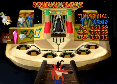 crash room crash bandicoot 3 warped beta warp room by plpietras on