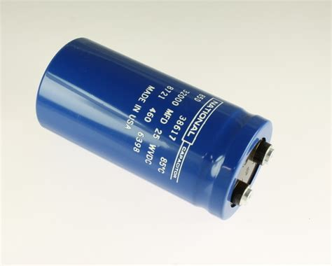 national power capacitor 85d323g025 national capacitor 32 000uf 25v aluminum electrolytic large can computer grade 2020063382