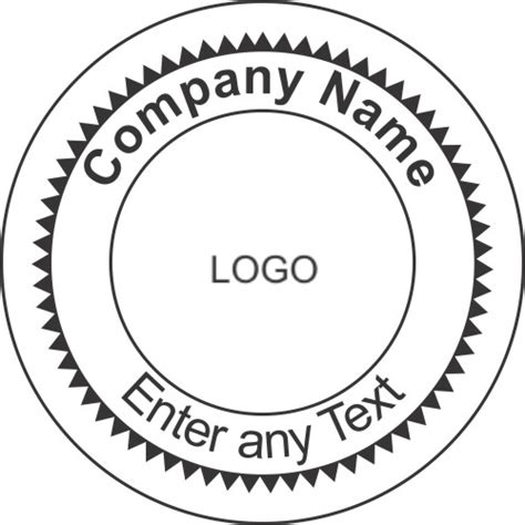 blank seal template best photos of circle st template corporate seal
