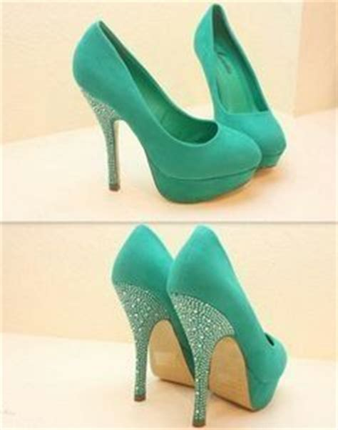 Sepatu Wedges Glitter Silver 1000 ideas about mint heels on heels shoes