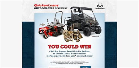 Outdoor Gear Giveaway - quicken loans outdoor gear giveaway win a grand prize package valued at more than