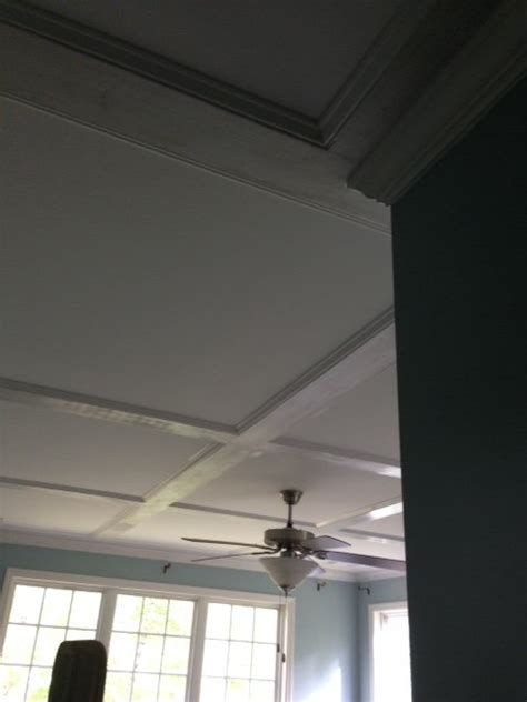 Flat Coffered Ceiling by Flat Coffered Ceiling By Gcsdad Lumberjocks