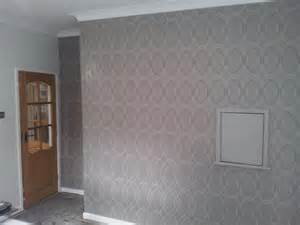 Living Room Wallpaper At B Q Nicholas Bailey Quality Painting Decorating