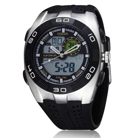 Ohsen Waterproof Quartz Digital Sport Ad0926 1 ohsen waterproof quartz digital sport ad0828 1 black elevenia