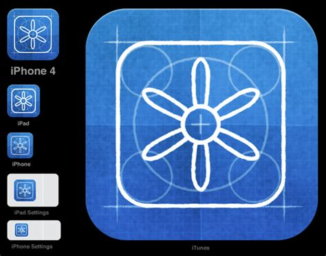 Design Dimensions App | all the sizes of ios app icons neven mrgan s tumbl