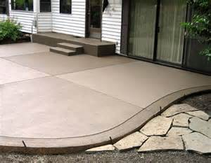 Colored Concrete Patio Pictures by 25 Best Ideas About Colored Concrete Patio On Pinterest