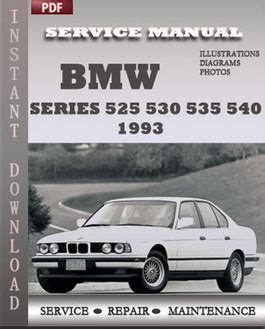 auto repair manual free download 2001 bmw 530 electronic throttle control bmw 5 series 525 530 535 540 1993 service repair manual instant download