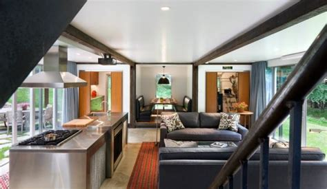 shipping container homes interior shipping container homes designed with an urban touch