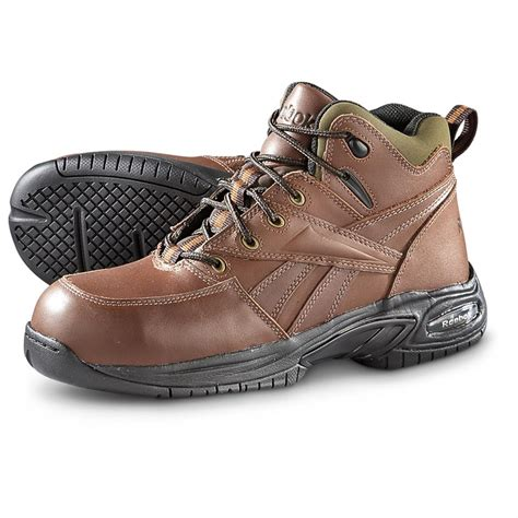 composite toe hiking boots reebok composite toe hiking boots 637822 work boots at