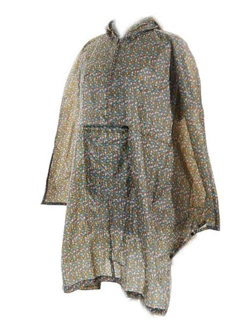Eco Chic Fashion Ethics Show In Oxford 16 March by Eco Chic Poncho Mac In Bag Coat Cing